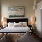 King bed, and spacious closet