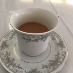 Elegant cup of tea warmed my heart & soul!