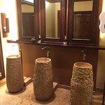 Public area bathroom