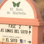 You know you have arrived ay El Soto De Marbella!