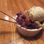 Great Blueberry Cobbler