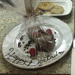 Special treat from hotel staff as we were celebrating my daughter & niece's birthdays!