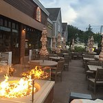 110 Grill Wayland Patio and Fire Pit