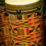 These Bongos were found in the music room!