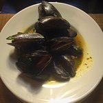 The mussels...
