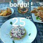 Restaurant de la plage Foto
