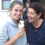Cooling down with ice cream from Mr. Whippy to finish off our summer pony camp. Well done to eve