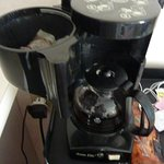 Dirty coffee pot.