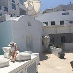 White suite veranda!