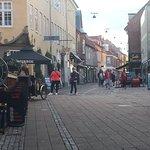 Quaint streets of Helsingor