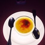 Lavender and Local Honey infused Creme Brulee