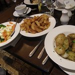 A selection of side dishes