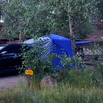 All set up at my site-Moraine Park Campground