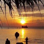 Sairee Beach aus der Hängematte(Tauchschule) :D