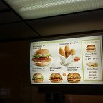 hamburger signs - canadian dollar prices