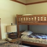 Beds and bunks in room 2501
