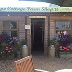 Front of the shop looking lovely in the summer sun!