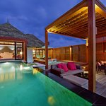 Water Villa with Pool - Outdoor Deck
