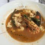 Fish Soup (half eaten)