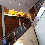 Lobby and exteriors of Hilton Garden