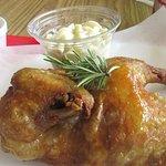 Chicken with Macaroni Salad, Savory Chicken, Milpitas, CA