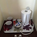 Coffee available in the room