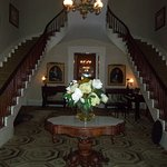 Main Foyer of Plantation Mansion famous Horseshoe Staircase