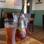 Generous pitcher of Pimms good value at £10