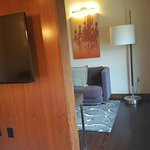 Andaz San Diego, my upgraded room a Jr. Suite.