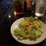 Caesar Salad which accompanies most (all?) entrees.