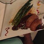 BBQ Boneless Beef Short Ribs with Onion Rings