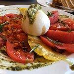 Juicy summer tomatoes