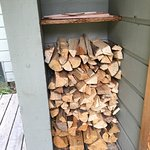 Always well-stocked with firewood!