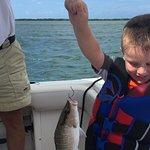 I caught a fish
