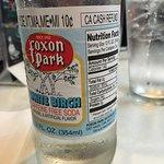 Yummy white birch soda!