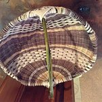 Hand woven basket!  Baskets workshops monthly!  Check website Events tab for current schedule of