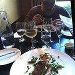 Großartiges Dinner und guter Wein zu sehr günstigem Preis direkt hinter dem Granville Market