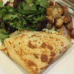 Cole valley crepe w/ house potatoes & side salad