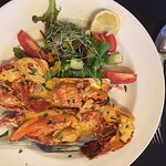 'Hope Cove' Lobster Thermidor special £28.00 fabulous