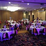 Banquet Set Up for our Event