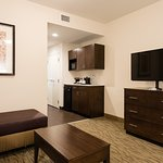 Executive King Suite Living Area / Wet Bar