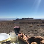 Lunch with amazing views during an excursion to the highlands