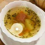 Бизнес-ланч - суп с говядиной