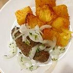 Бизнес-ланч - кебап с печной картошкой