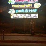 TigullioCamping & Resort entrance.
