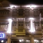 Facade at night time :)