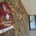 Entrada al Centro de Recepción de Visitantes de Cortegana