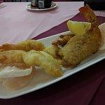 Fresh, huge, crunchy prawns. Simply delicious.