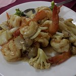 The garlic prawns are magnificent, with just the right flavour and fresh, crunchy, tasty prawns.