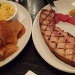 Fatty bacon.